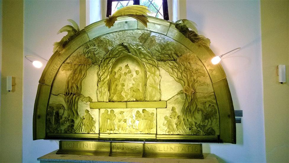 Oltář v kostele svatého VIntíře v Dobré