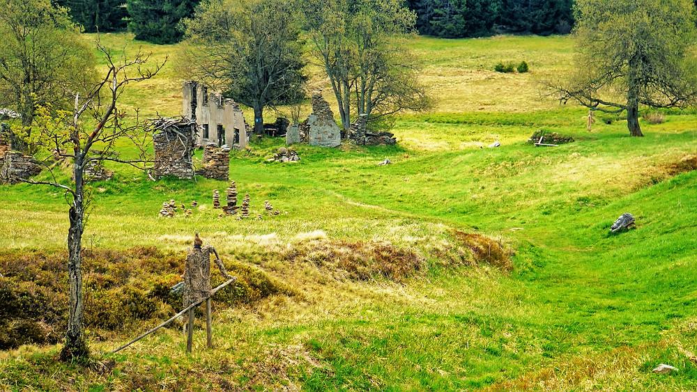 Krajina v Königsmühle našla pod uměleckými díly znovu svůj smysl