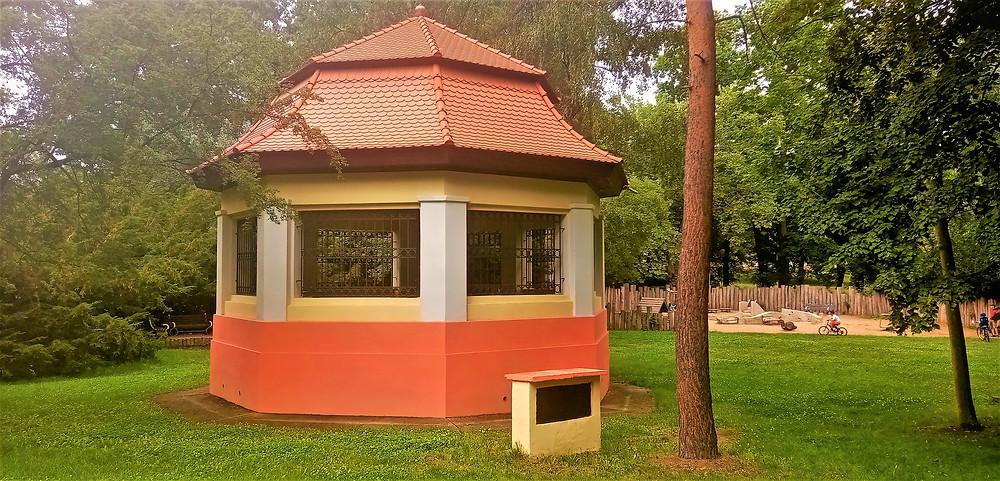 Bývalé akvárium v chomutovském parku