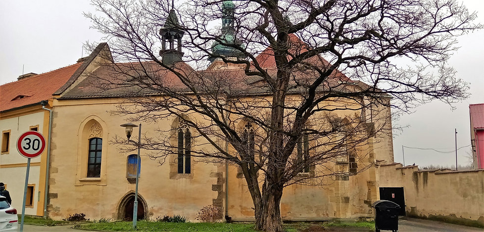Nejstarší budova v Mostě - kostel svatého Ducha