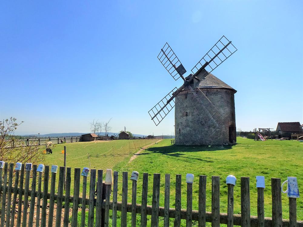Větrný mlýn v Přemyslovicích