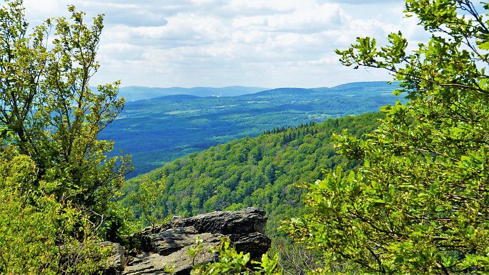 Na vrcholu Národní přírodní rezervace Jezerka