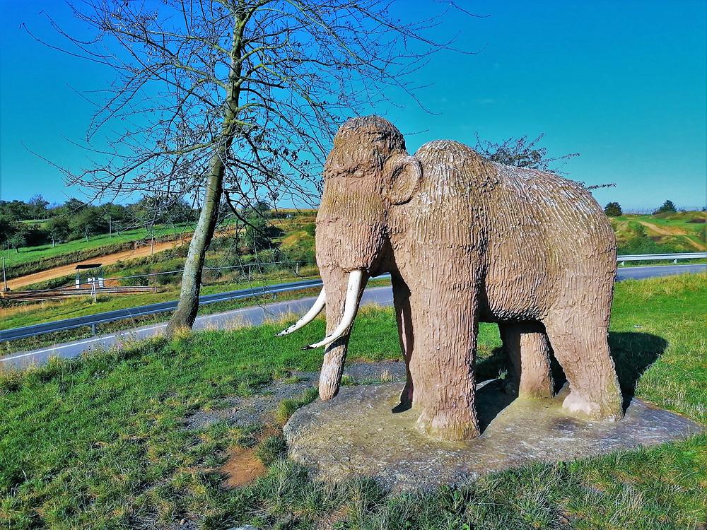 V lokalitě Předmostí u Přerova najde Stezku lovců mamutů; průvodcem je Mamutík Tom