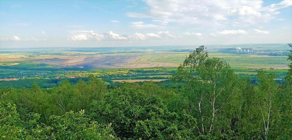 Pohled z vyhlídky Hradiště