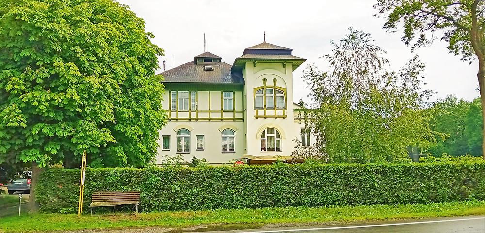 Dnešní podoba Habrmannovy vily
