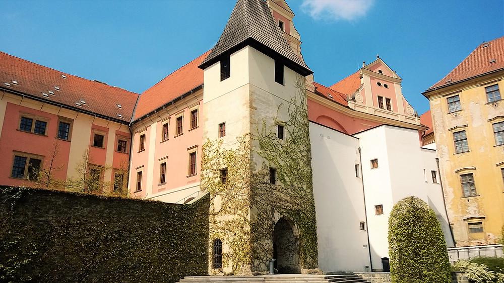 Židovská brána přiléhající ke Kapli Božího těla v Olomouci