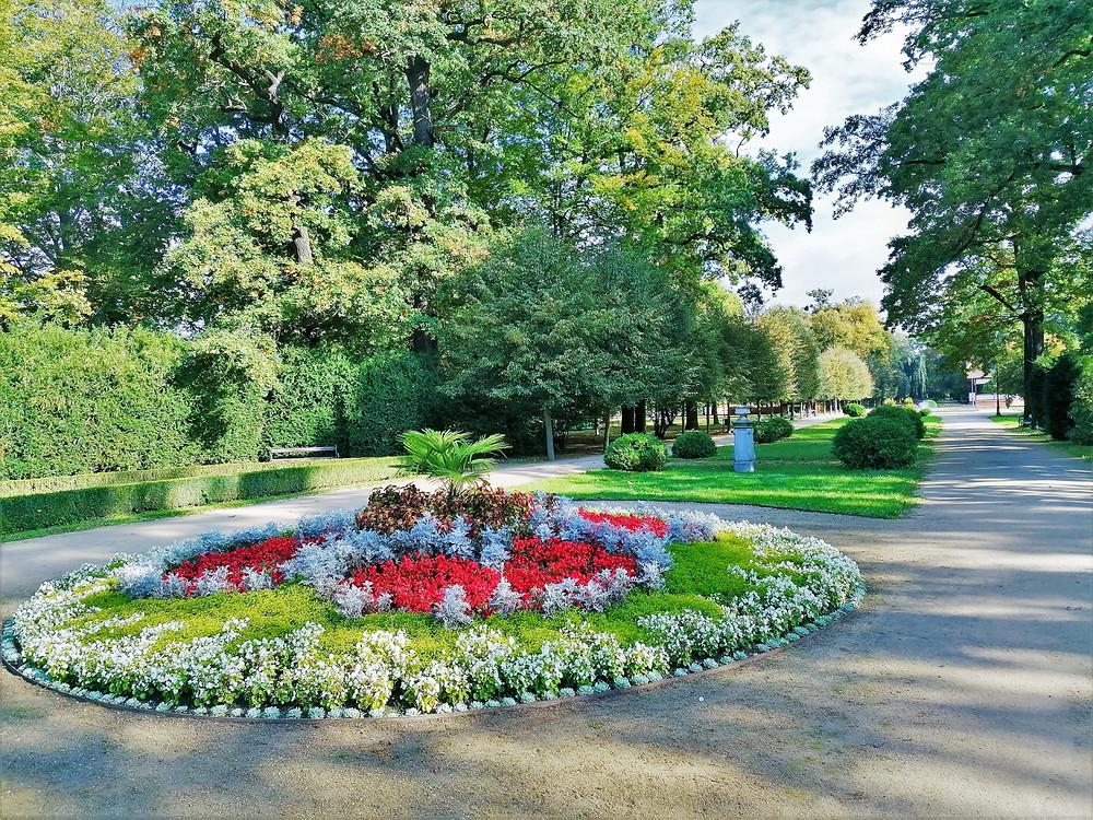 Městský park Michalov v Přerově