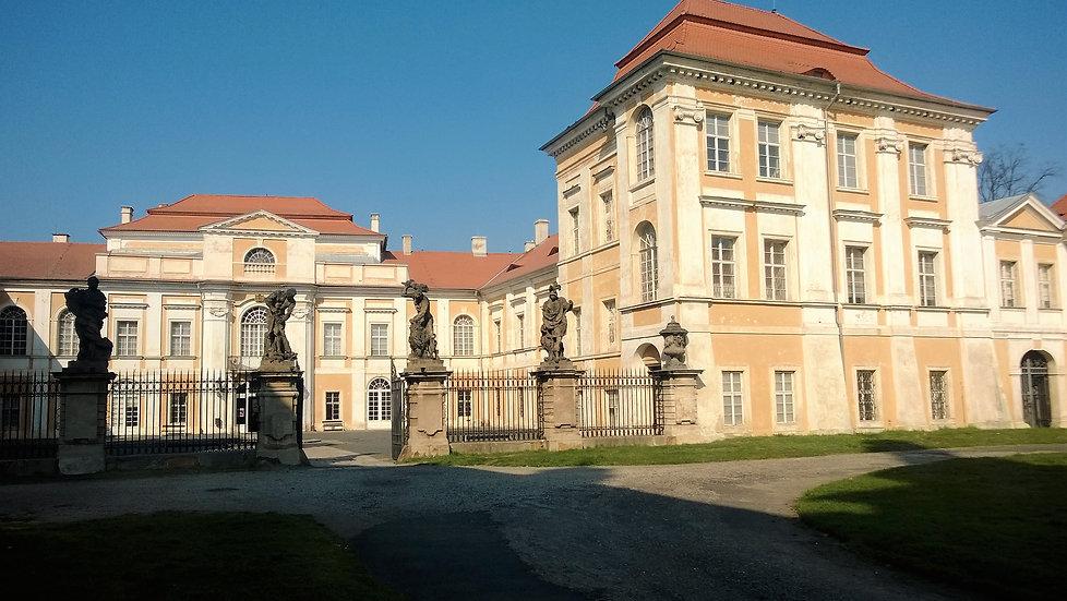 Vstup do Duchcovského zámku