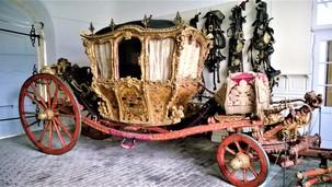 Arcibiskupský kočár na zámku v Náměšti na Hané
