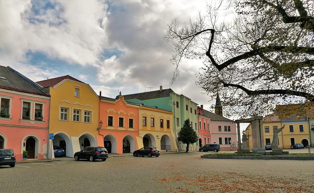 Dispozice Horního náměstí v Přerově