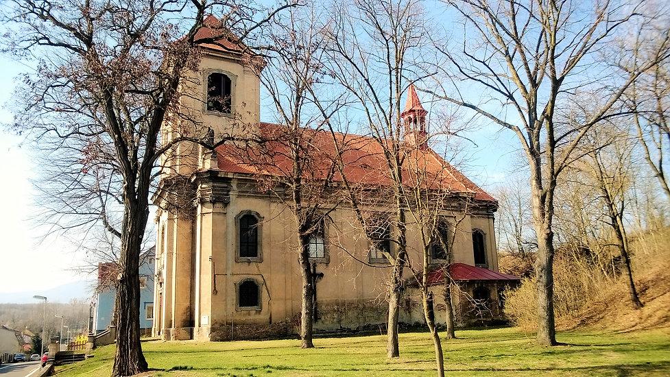 Kostel svatých Šimona a Judy v Zábrušane