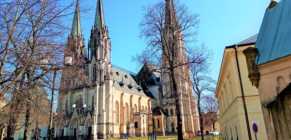 Lokalitě Olomouckého hradu jasně dominuje katedrála svatého Václava s nejvyšší moravskou kostelní věží a druhou nejvyšší věží v České republice
