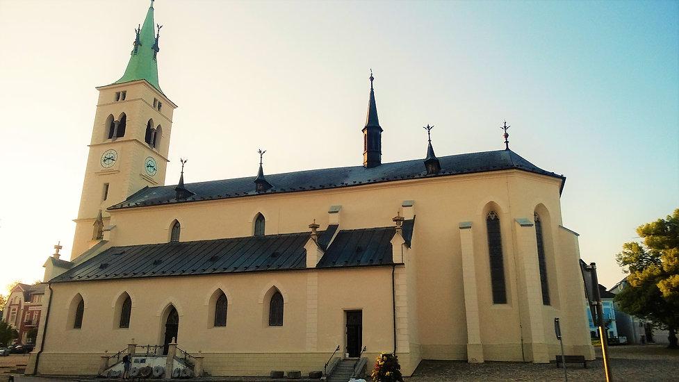 Kostel svaté Markéty v Kašperských Horác