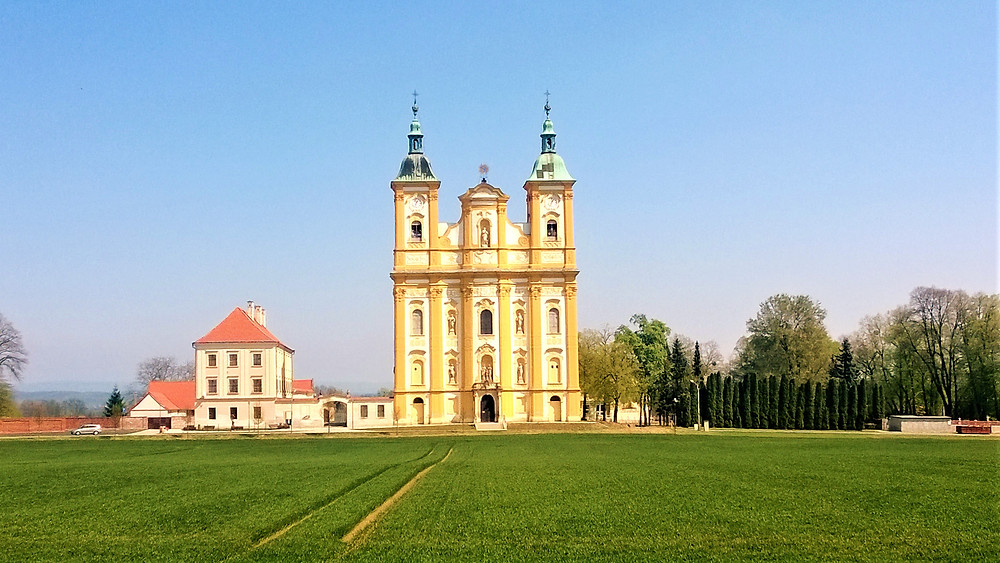 Fascinující stavba kostela Očišťování Panny Marie v Dubu nad Moravou