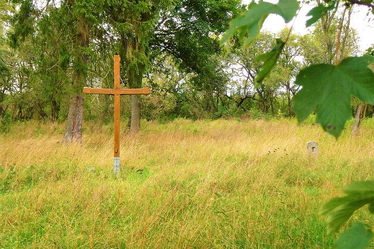 Starý zajatecký hřbitov v Karlíně (VP).J