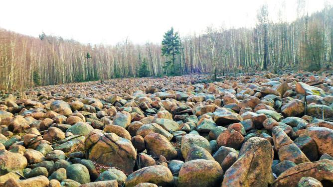 Galerie: Ojedinělé kamenné moře