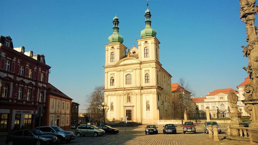 Kostel Zvěstování Panny Marie v Duchcově