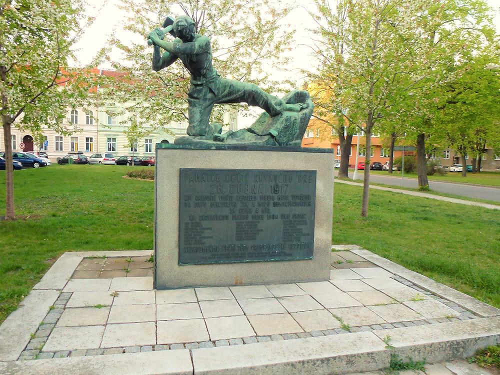 Památník Krvavého dne v Prostějově