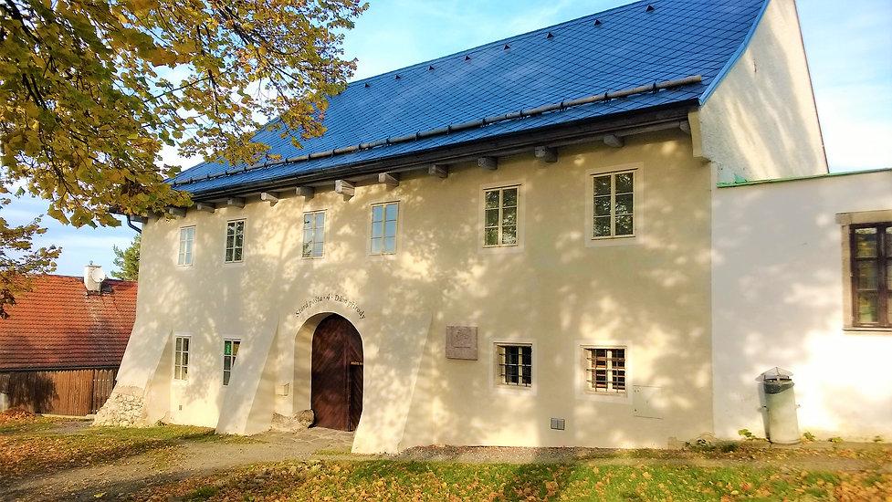 Budova Staré pošty v Klenčí pod Čerchove