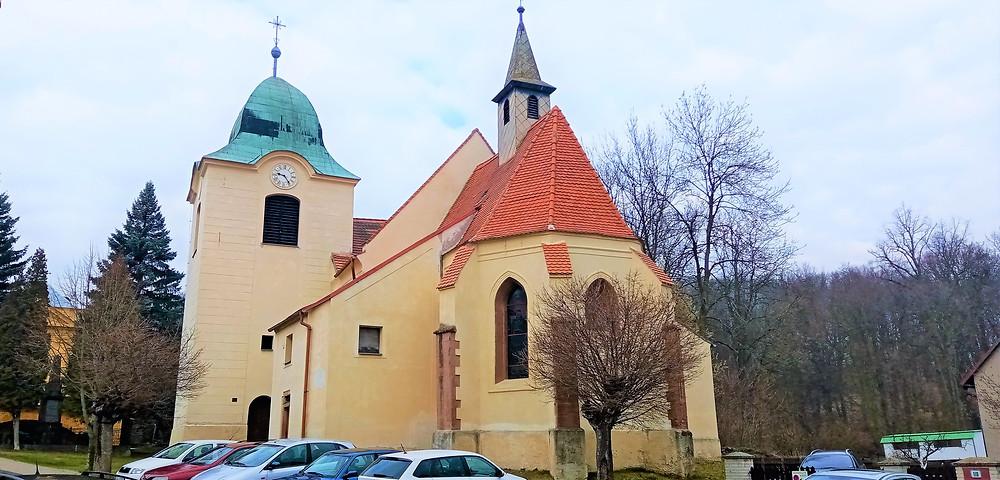 Kostel Nanebevzetí Panny Marie v Mašťově
