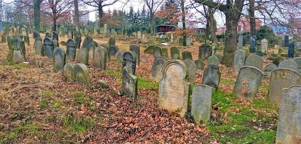 Židovský hřbitov Sobědruhy, Teplice
