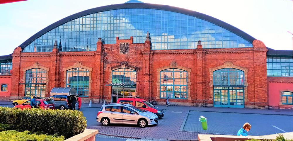 Budova bývalé dobytčí tržnice v Olomouci