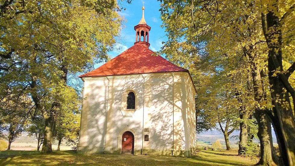 x - Kostel svatého Vavřince v Domažlicíc