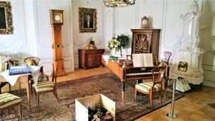 Hudební salonek na zámku v Náměšti na Hané