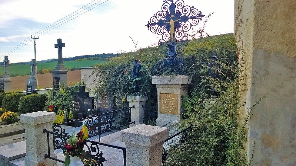 Hrob Jindřicha Šimona Baara na hřbitově