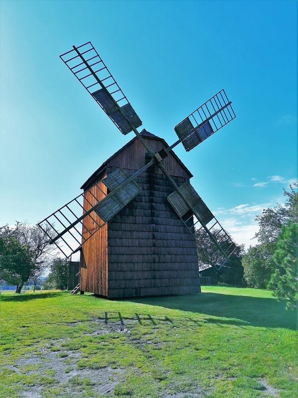 Na Maršálkově větrném mlýně se mlelo až do roku 1960