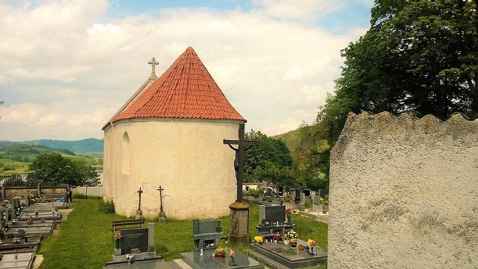 Unikátní hřbitovní kaple svatého Erazima