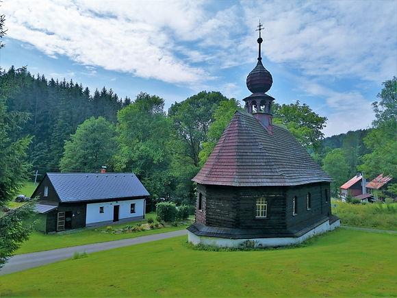 Kaple svatého Jana Nepomuckého v Klepáčově