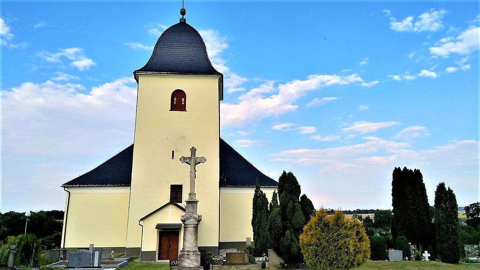 Velké Kunětice - Kostel Panny Marie Sněž