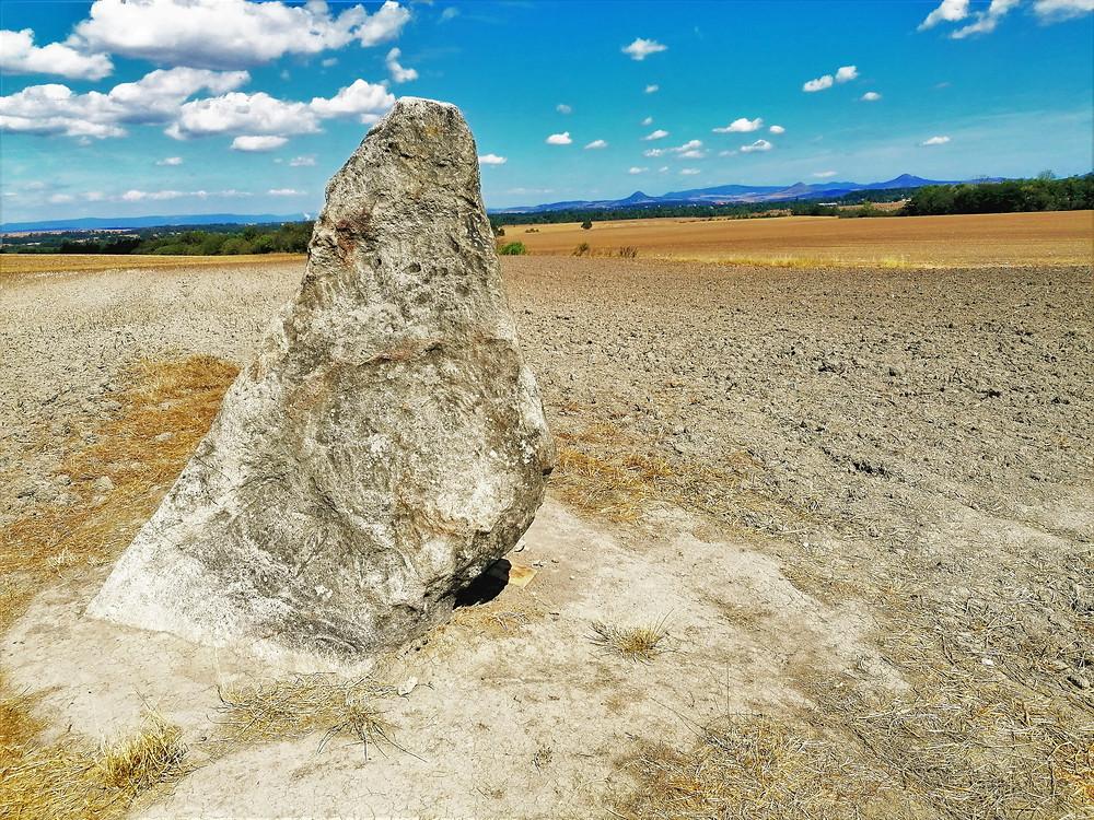 Druhý nejvyšší český menhir - Zakletý mnich
