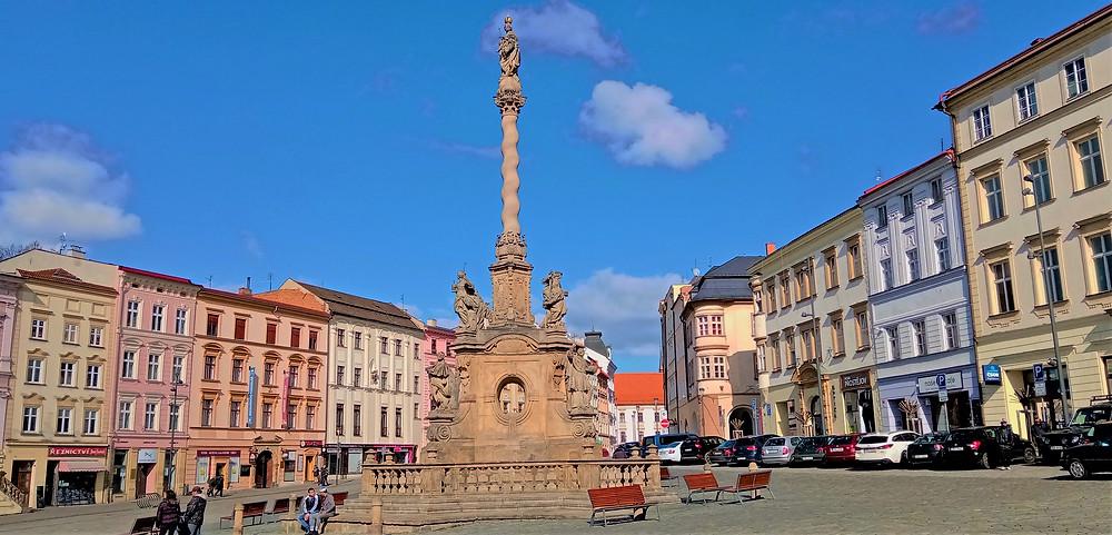 NKP Mariánský sloup je vděkem Olomouckých za přečkání morových ran