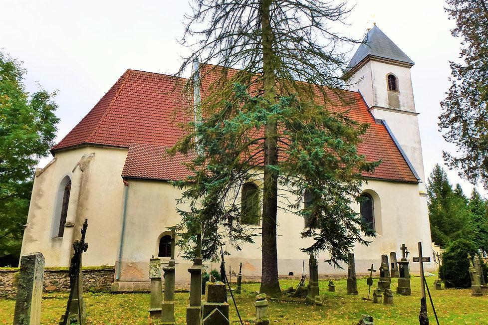 Kostel Nalezení svatého Kříže v Újezdu S