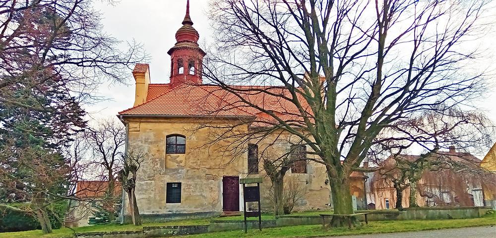 Nejcennější sakrální stavba Mašťovska - kostel svaté Markéty ve Vintířově