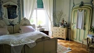 Ložnice na zámku v Náměšti na Hané
