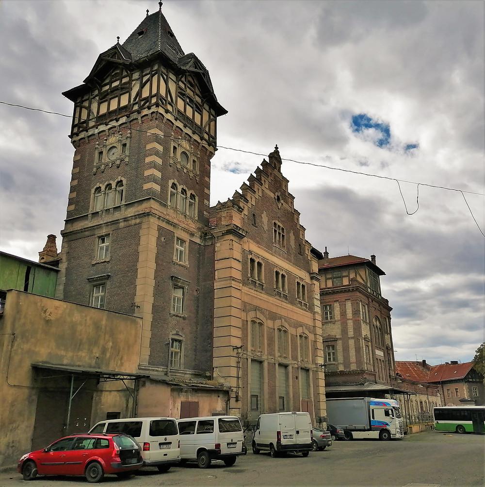 Budovy bývalého pivovaru Dreher v Žatci