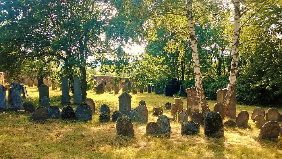 Den pozvolna uvadá na židovském hřbitově