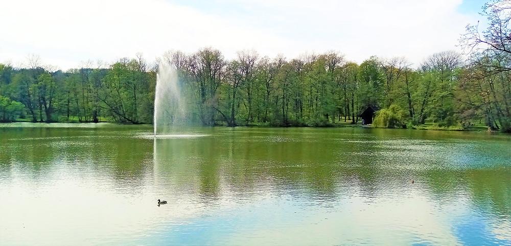 Zámecký park, Teplice