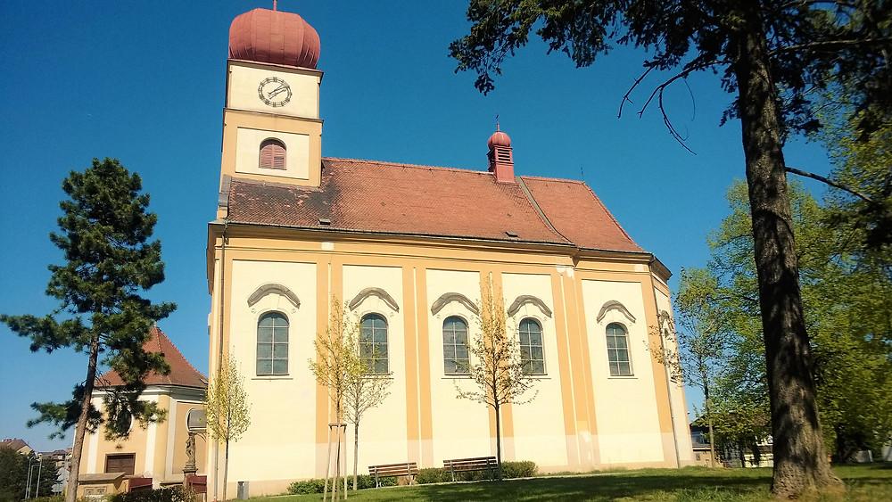 Kostel svatých Petra a Pavla v Prostějově