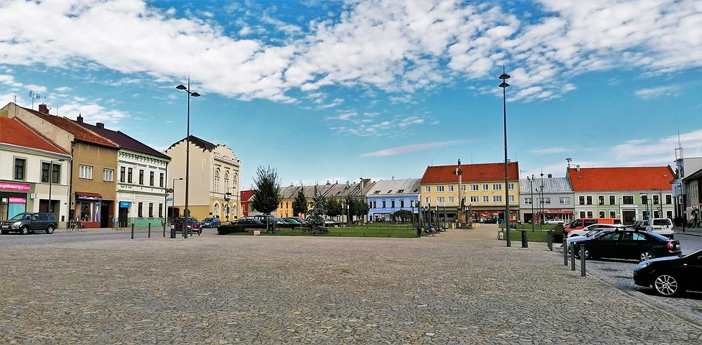 Masarykovo náměstí v Kojetíně