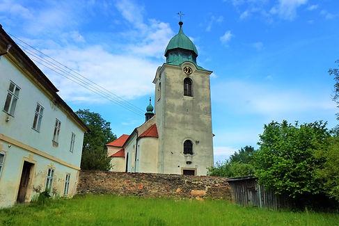 Kostel svatého Mikuláše biskupa Měčín (V