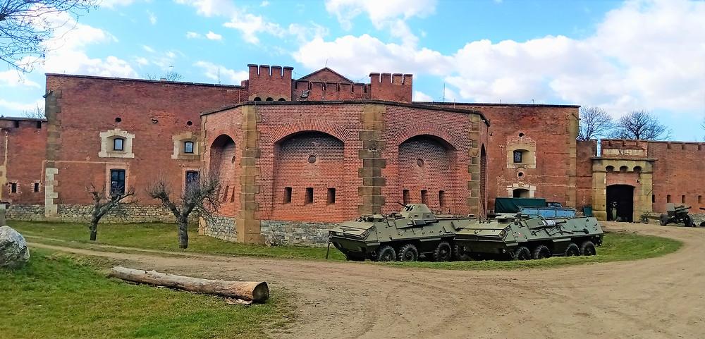 Vojenská pevnost Fort XIII v Olomouci