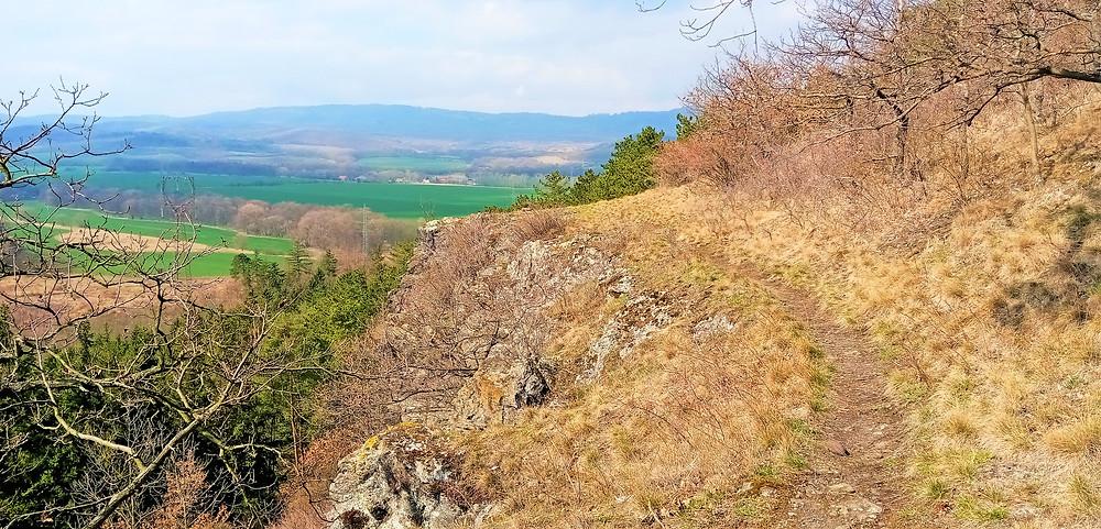 Traverzní cesta přes Radechovské skály