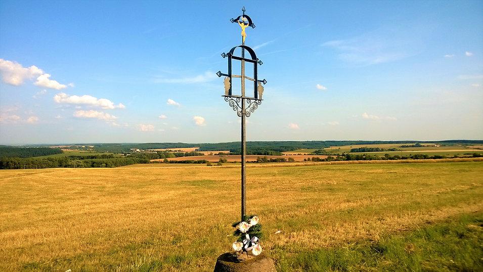 V Čechách velmi nezvyklý železný kříž um