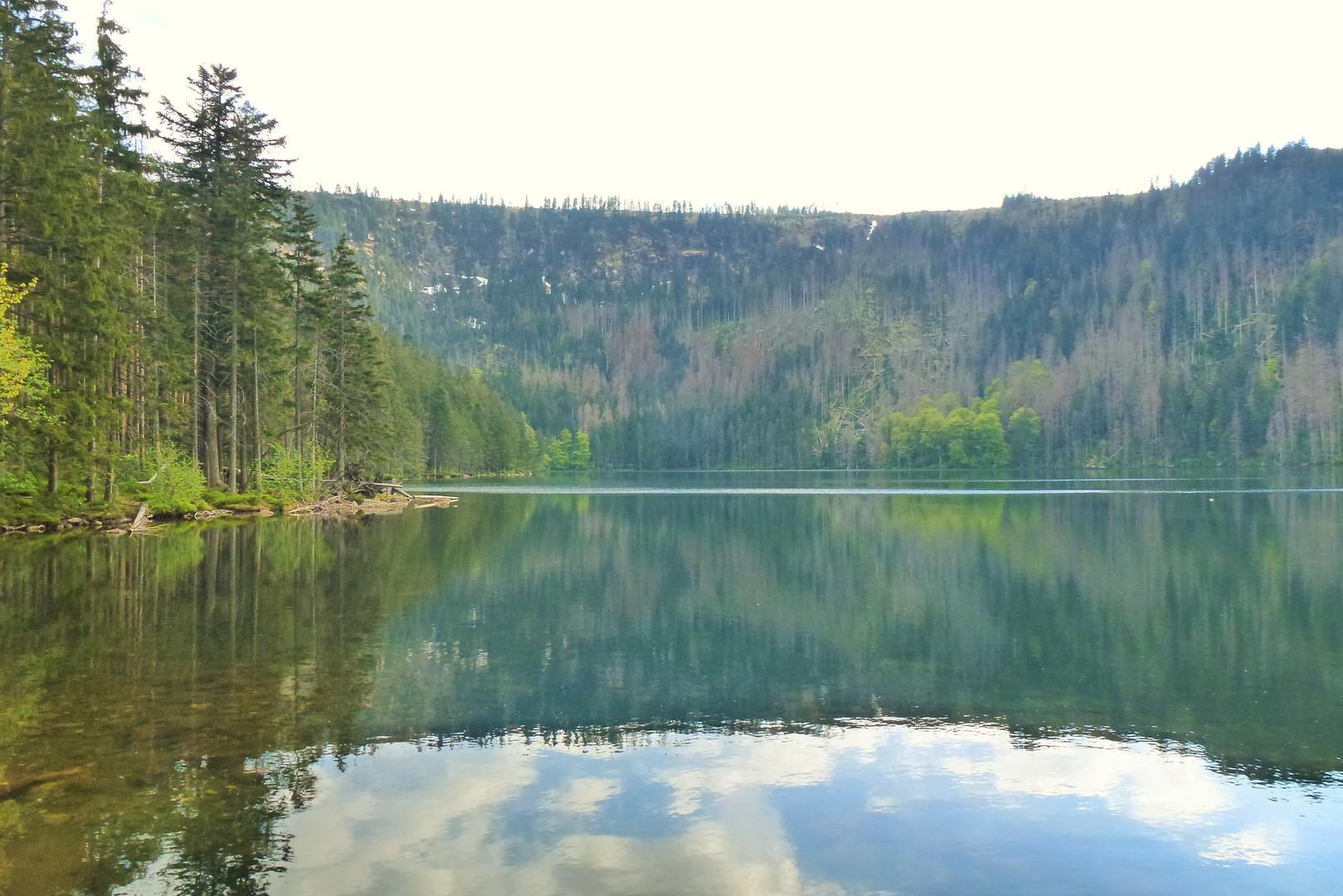 Galerie: Ledovcová jezera - Černé a Čertovo