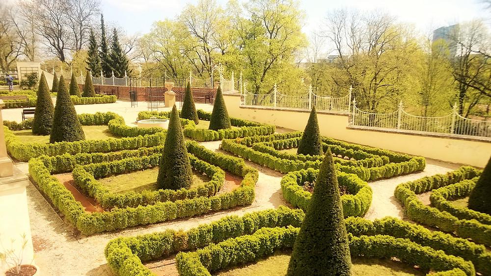 Křehká krása Parkánových zahrad v Olomouci