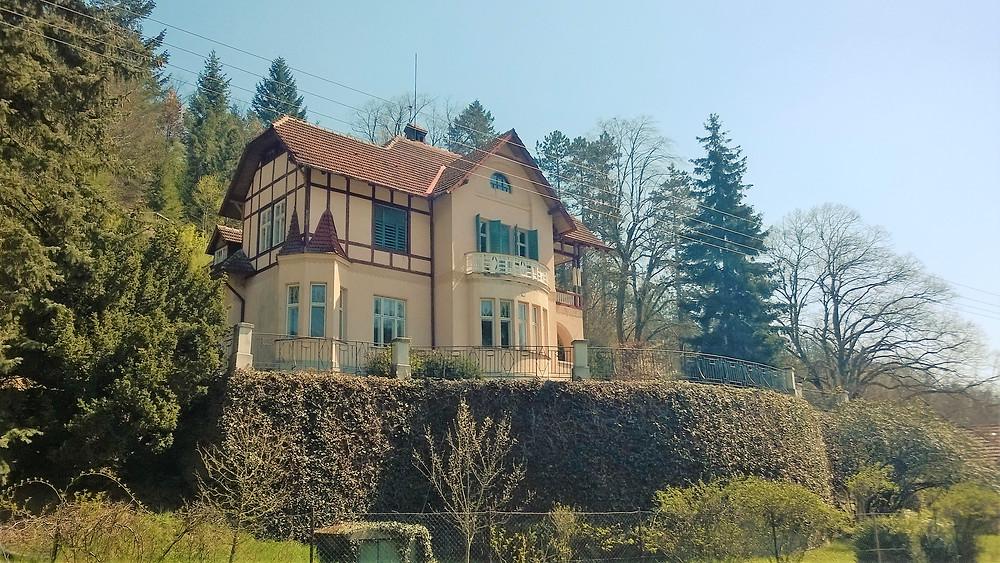Vila Otty Wichterleho ve Strážisku